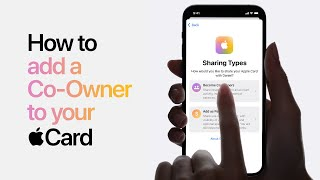 Apple Card - How to add a Co-Owner