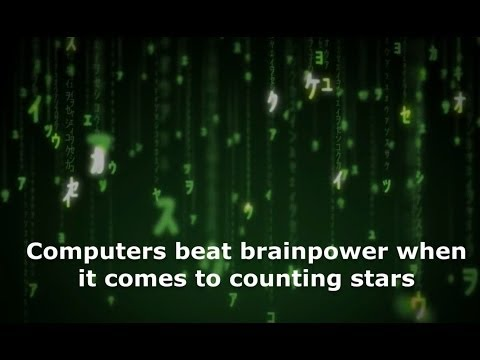 Computers beat brainpower when it comes to counting stars
