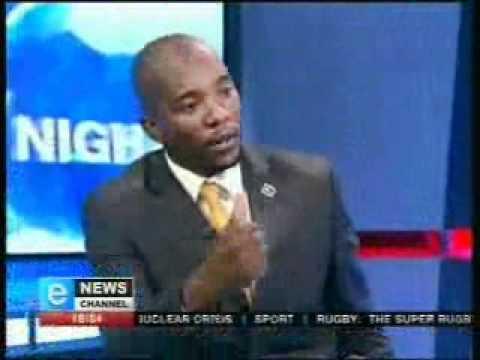 Mmusi Maimane, DA mayoral candidate for the City of Johannesburg