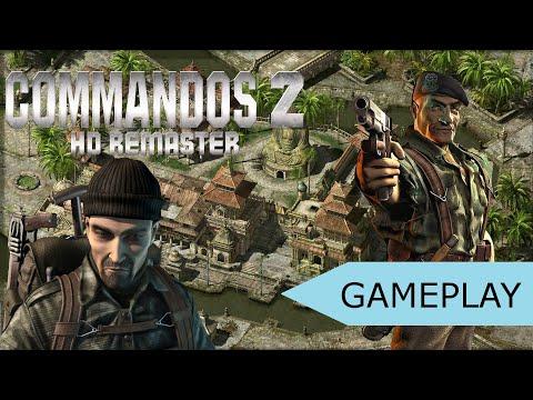 Commandos 2 HD Remaster Beta Gameplay [PC HD]