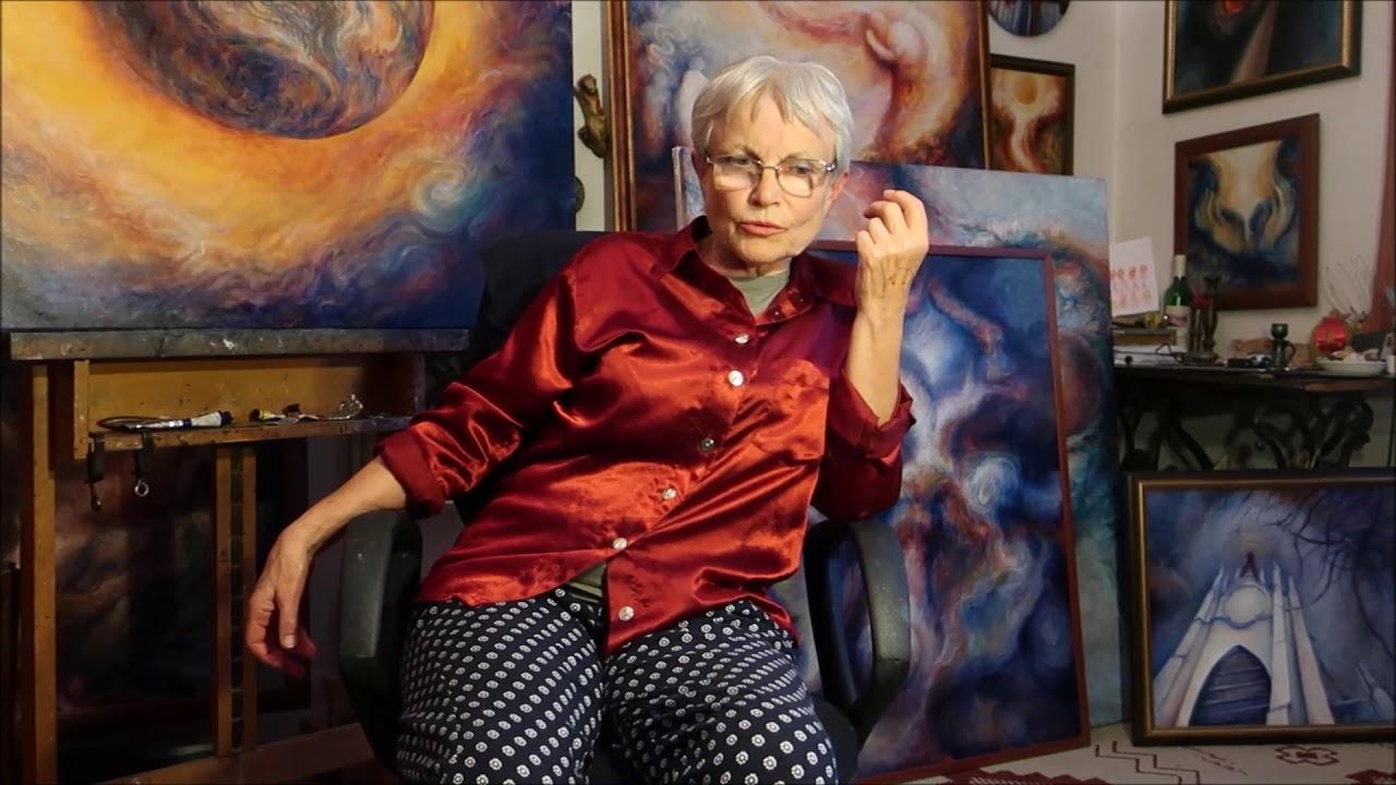 Video Výstava obrazů Bohunky Waageové
