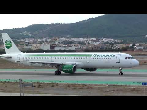 Germania Airbus 321 D-ASTP Taxing Malaga LEMG