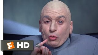 One Million Dollars - Austin Powers: International Man of Mystery (2/5) Movie CLIP (1997) HD