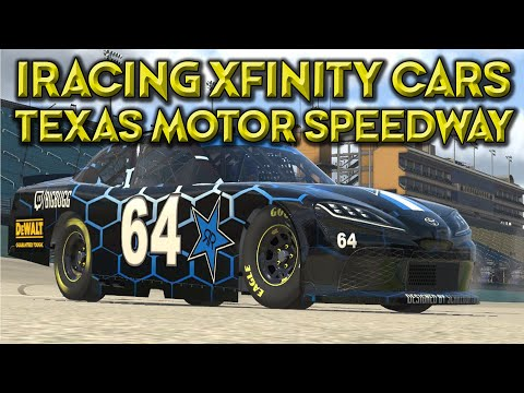 IRACING - (XFINITY CARS) 3RD PLACE FINISH AT TEXAS MOTOR SPEEDWAY