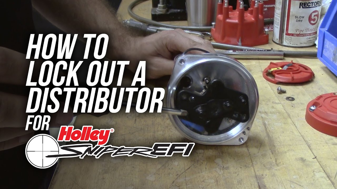 How To Install An Msd Distributor With Sniper Efi Youtube Atomic System Wiring Diagram