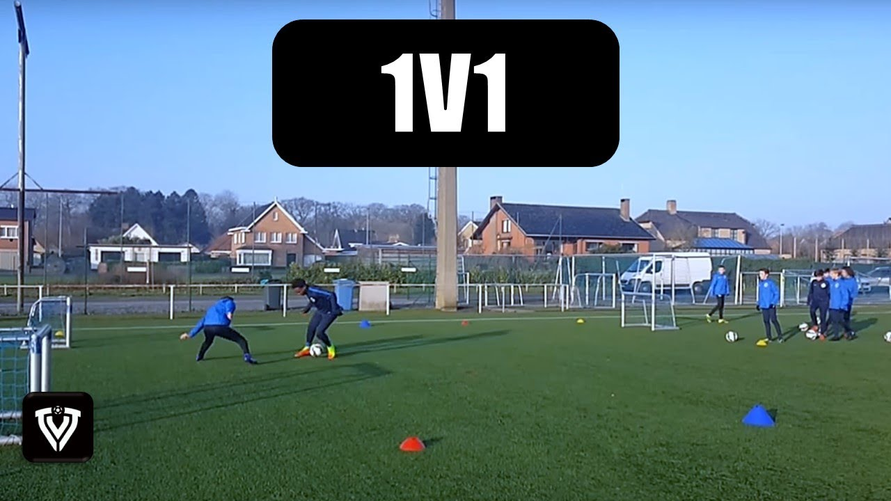 1V1 DRILLS | U9 - U10 - U11 - U12 - U13 - U14 | FOOTBALL - SOCCER | 1V1  EXERCISES