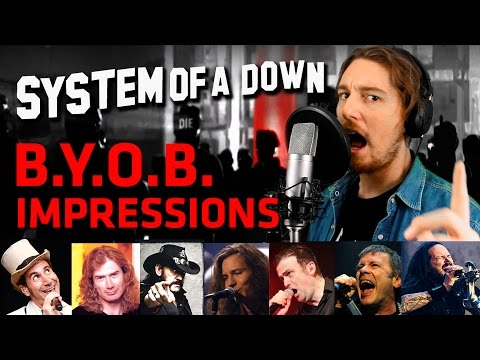 SYSTEM OF A DOWN - B.Y.O.B. (Cover + Vocal Impressions) by Parasyche