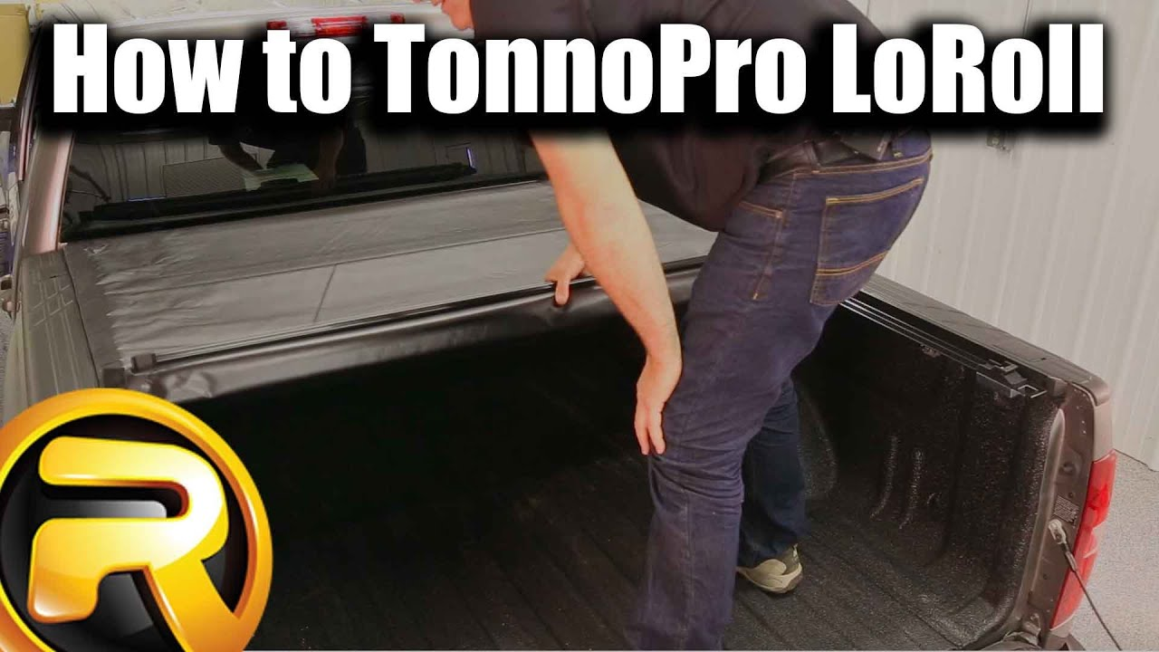 Tacoma Tonneau Cover >> How to Install the TonnoPro LoRoll Tonneau Cover - YouTube