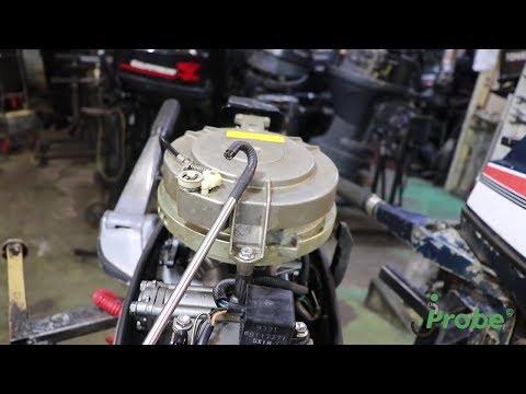 Диагностика лодочного мотора при помощи эндоскопа JProbe