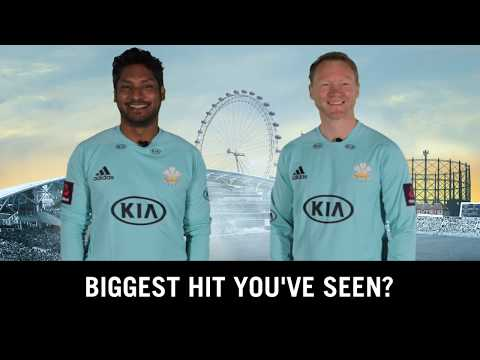 Kumar Sangakkara and Gareth Batty in conversation