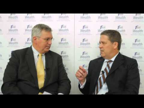 Peter Flavel discusses the business model of J.P. Morgan Wealth Management