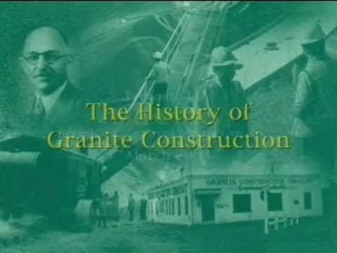 History Of Granite Construction