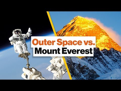 Why Going to Outer Space Is Actually Easier Than Summiting Mount Everest | Scott Parazynski