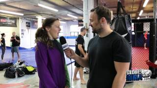 UFC Fight Night 89 - Joanne Calderwood about her upcoming fight against Valérie Letourneau