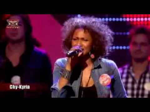 X Factor 2010 - Chorusline - Dwayne - Jaap - Mathijs - Chy-kyria