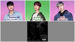 Stray Kids 3RACHA (스트레이 키즈 쓰리라차) - Double Knot [Han|Rom|Eng Color Coded Lyrics]