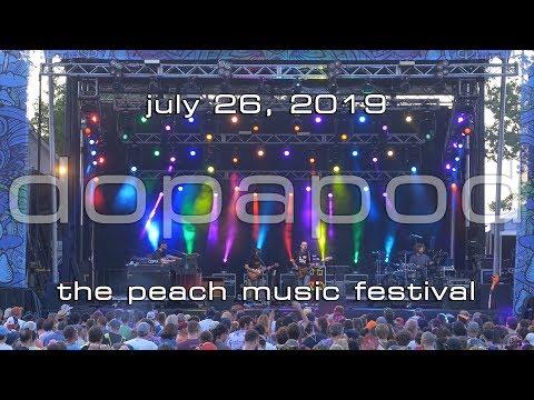 Dopapod: 2019-07-26 - The Peach Music Festival; Scranton, PA (Complete Show) [4K]