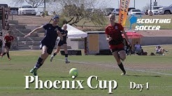 2018 Phoenix Cup Soccer Tournament From Scottsdale Sports Complex Day 1 - Scouting Soccer
