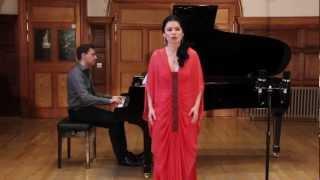 Mozart Le Nozze di Figaro Dove sono i bei momenti.. Anastasia Prokofieva soprano, Sergey Rybin piano