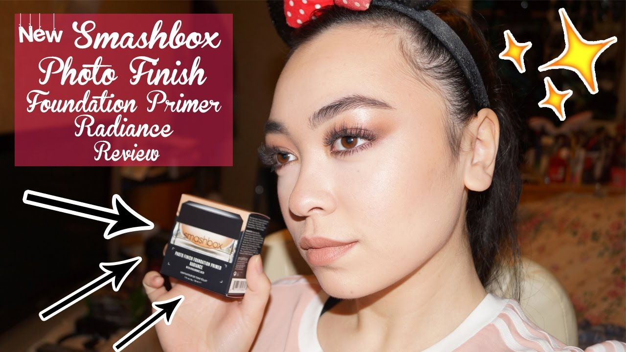 New Smashbox Photo Finish Foundation Primer Radiance Review
