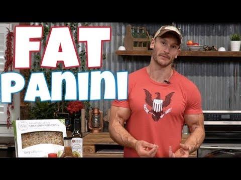 Keto Recipe | Cauliflower Crust Panini | Low Carb Treat | Easy Recipe- Thomas DeLauer
