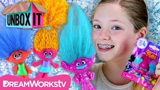 Trolls Series 4 Blind Bags with The MalWeb | DreamWorks' Trolls Presents UNBOX IT
