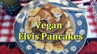 Elvis Pancakes (vegan & Healthy)