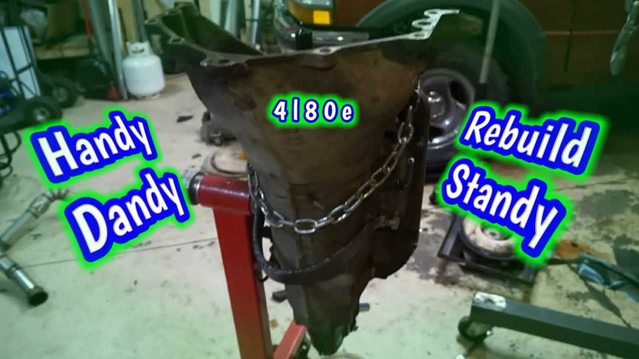 medium resolution of making a 4l80e rebuild stand out of an engine stand