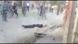 قتل الارهبي الذي حاول تفجير نفسة في تلعفر