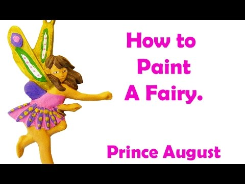 How to paint a Fairy | Toy Soldier Factory Fairy Door workshop