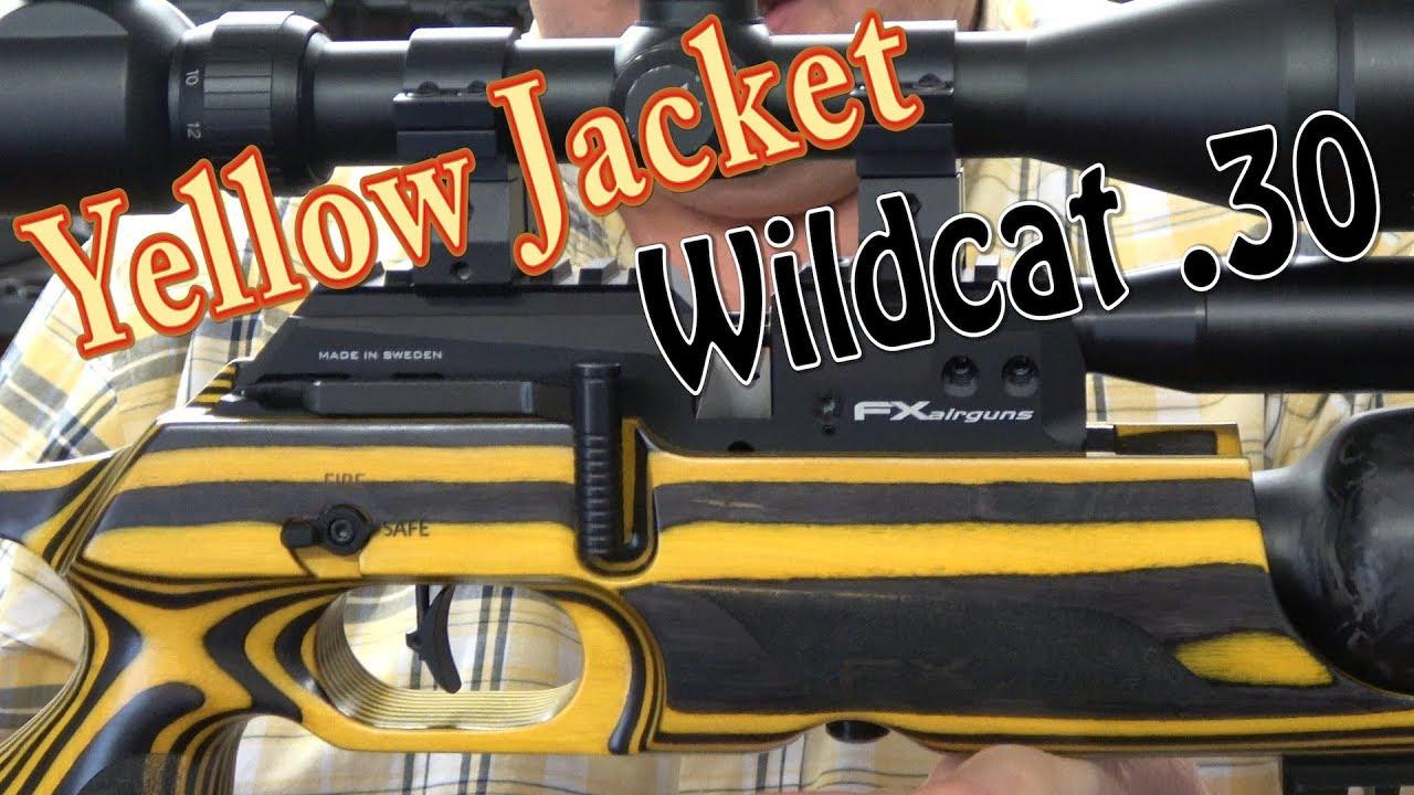 UNBOXING: FX Airguns Yellow Jacket + Wildcat  30 (Re-Upload