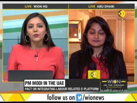 Red carpet welcome for PM Modi in UAE, five agreements signed between the two countries
