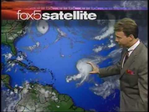 News Before 9/11 - Washington DC FOX Morning Weather Traffic And Headlines 7-8 am