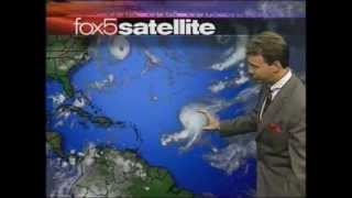 News Before 9/11 - Washington DC FOX Morning Weather Traffic And Headlines 7-8 am