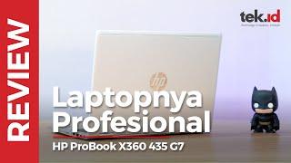 HP ProBook X360 435 G7 ini tipis, gesit, dan fleksibel
