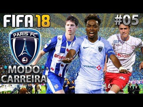 MAIS DOIS CONTRATADOS E ANGEL GOMES BRILHA NA FINAL! | MODO CARREIRA FIFA 18 | PARIS FC #05
