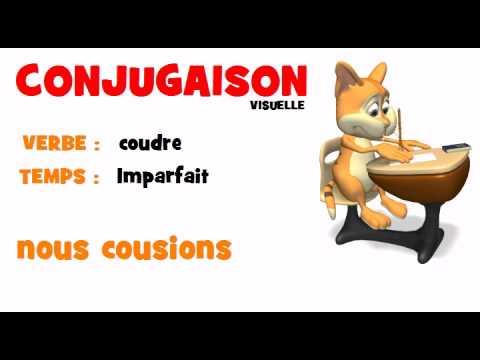 Conjugaison Coudre Imparfait Youtube