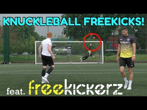 Knuckleball Freekicks with freekickerz | Unedited YouTube Meet Up 2017