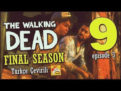 THE WALKING DEAD | Final Season Türkçe Altyazılı #9 Lee Bize Yardım Et! (Episode 3)