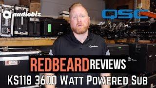 Redbeard Reviews: KS118 3600 Watt Powered Sub