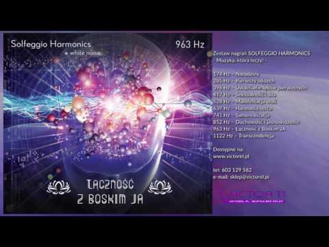SOLFEGGIO HARMONICS & white noise 963  Hz