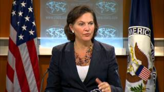 Spokesperson Nuland: A Unified, Free, Prosperous, and Tolerant Syria (Arabic Subtitles Available)