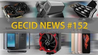 GECID News #152 ➜ GeForce GTX 1060 5GB ▪ Micron готова к GDDR6 ▪ Apple извиняется ▪ вирус Digmine