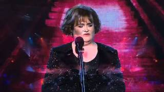 Susan Boyle performing on the The X Factor Australia