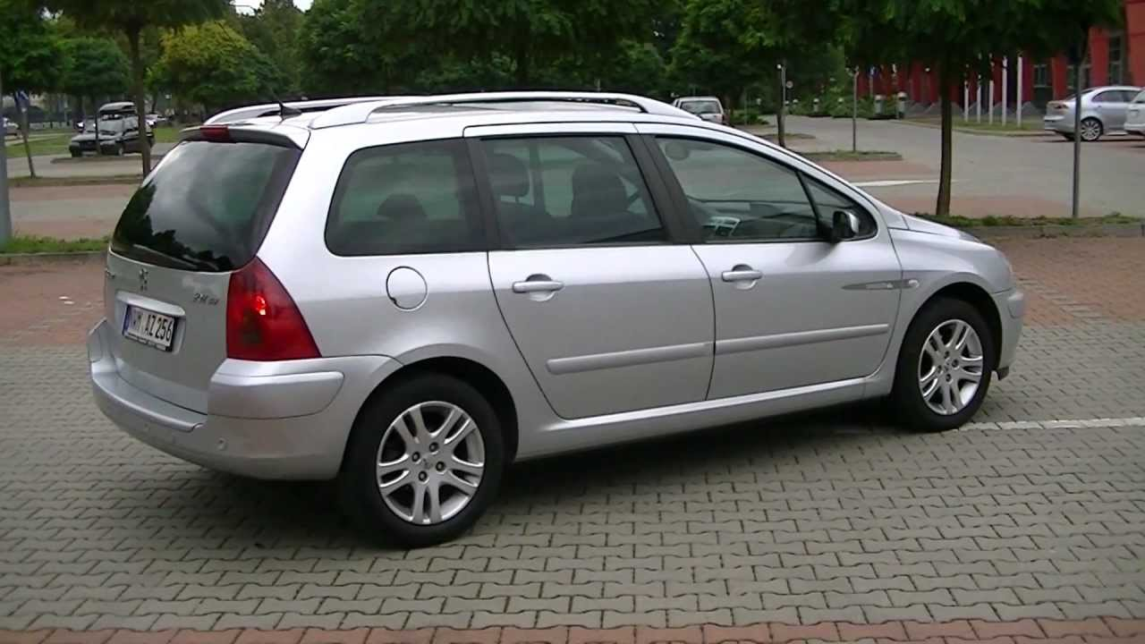 peugeot 307 sw 1 6 hdi - youtube