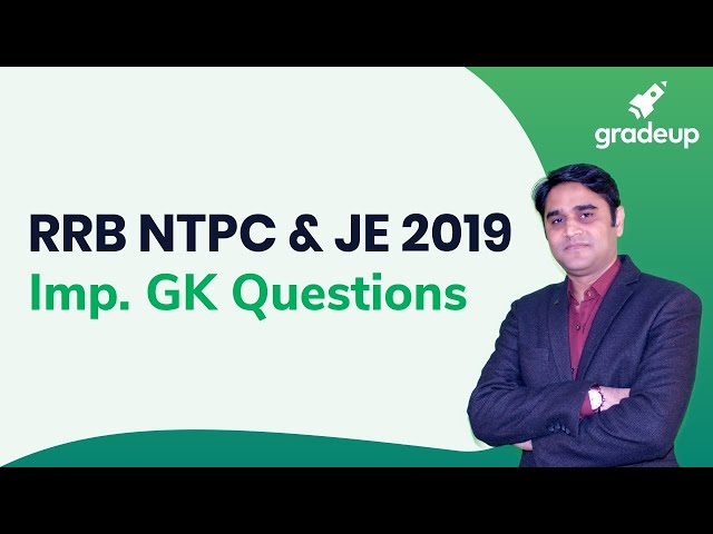 Mission RRB NTPC And JE 2019 | Important GK Questions | General Science By Zubair Ehsani