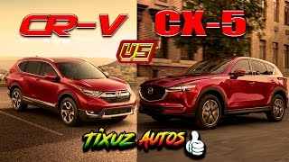 Honda CR-V vs Mazda CX-5