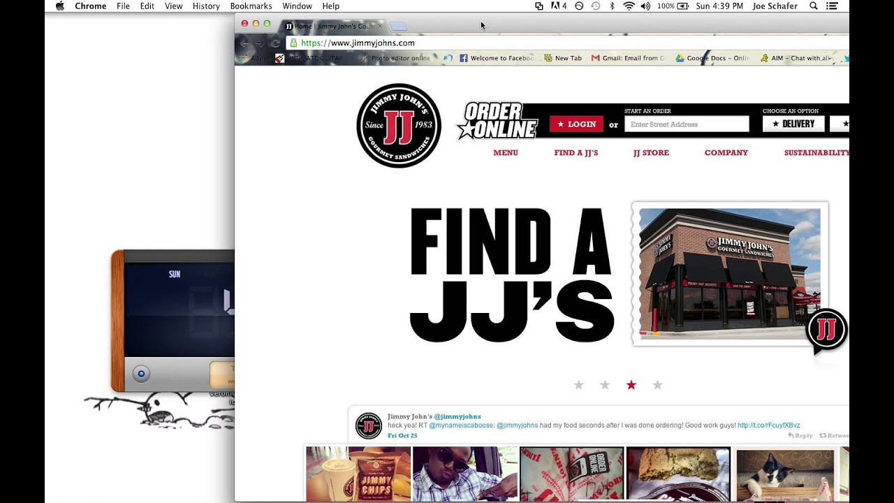 Order resume online jimmy johns