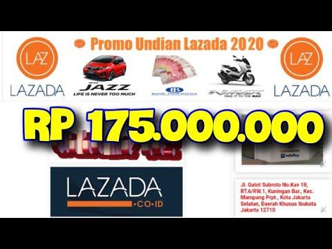 Promo Undian Lazada 2020 Youtube