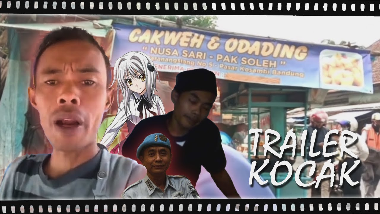 Trailer Kocak - Odading Man Origins Story (Feat. Irwansyah Masih Muda)